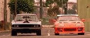 Dodge Charger vs. Toyota Supra