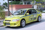 Mitsubishi Lancer Fast And Furious