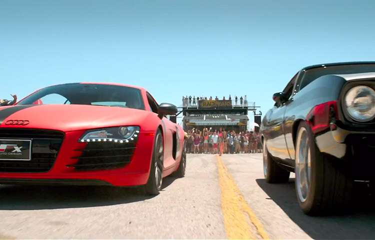 Audi R The Fast And The Furious Wiki FANDOM Powered By Wikia - Audi r8 quarter mile