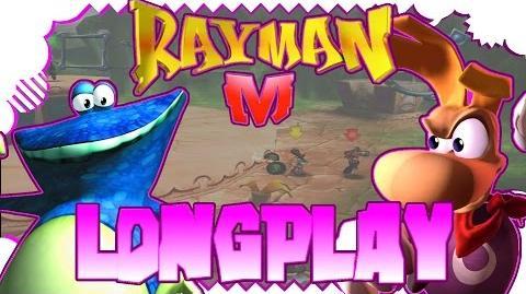 Sony PlayStation 2 Longplay 100% Rayman M Arena 1080p 50fps - 2017
