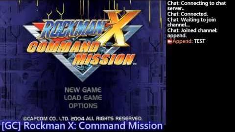 "GC Rockman X Command Mission Any% 4 04'34"" ExpTrick+Glitch"