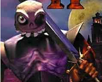 MediEvil - Sir Daniel Fortesque as he appears in MediEvil 2