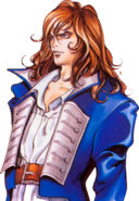 Castlevania - Richter Belmont as seen in Symphony of the Night close-up
