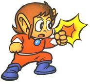 Alex Kidd - Alex Kidd as he appears back in 1986