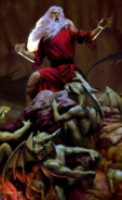 Forgotten Realms - Elminster Aumar in Hell by Stawicki