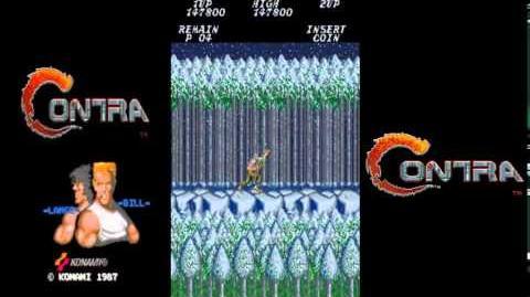 Contra Arcade No Death Playthrough