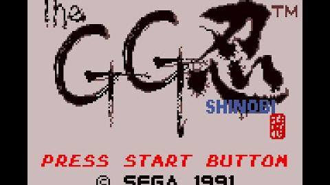 Game Gear Longplay 007 GG Shinobi