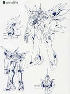 Xenogears - Weltall-Id Concept Art