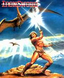 Wizards & Warriors - The Ironsword Poster from Nintendo Power by Tatsuji Kajita