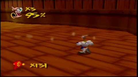 Earthworm Jim 3D N64 Gameplay