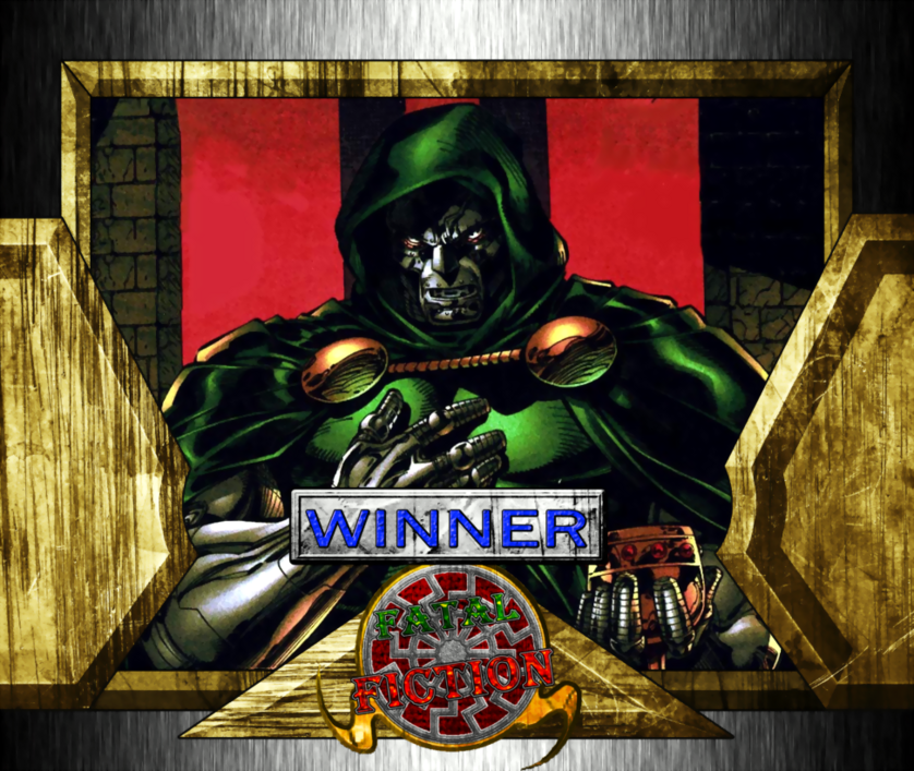 Fatal Fiction Winner - Doctor Doom