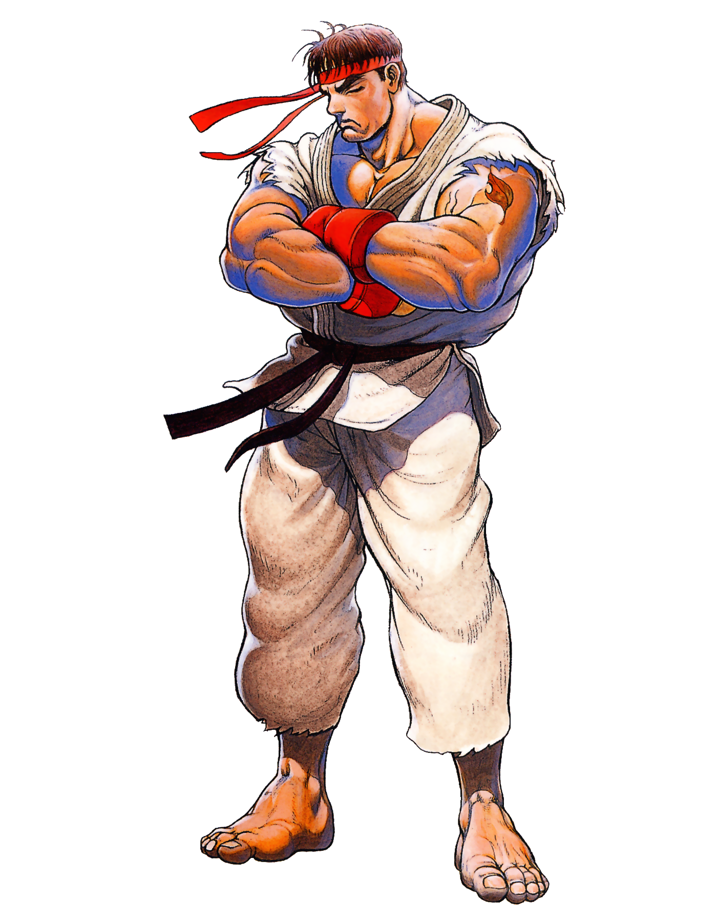 street fighter v ryu png