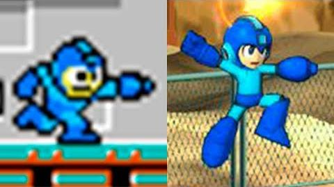 Evolution of Mega Man 1987-2018
