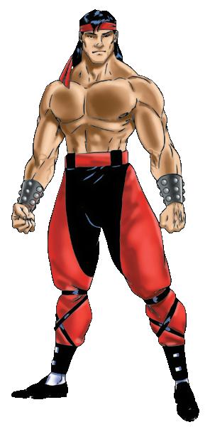Mortal Kombat - Liu Kang's consept art as seen in Mortal Kombat 3