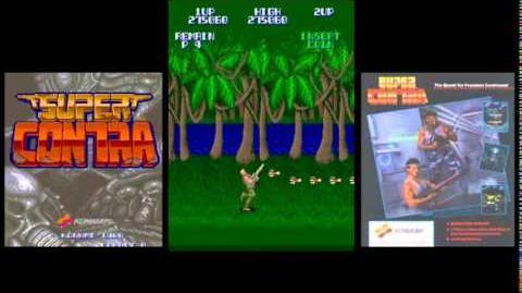 Super Contra Arcade No Death Playthrough