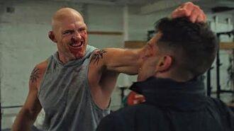 Russian Gym Fight -Punisher Season 2 Scene- 2x05 Netflix (HD)