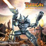Turrican - Bren McGuire as he appears in the Turrican Soundtrack Anthology Front Cover