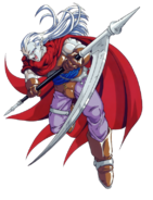 Chrono Trigger - Magus as seen in the Playstation version