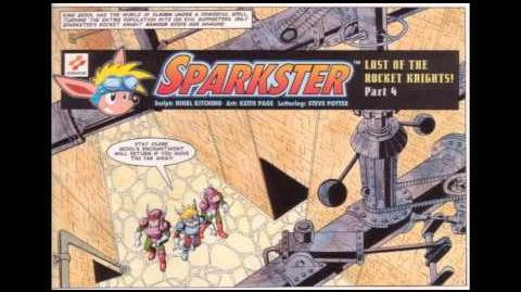 "Sparkster ""Last of the Rocket Knights"" - Audio Comic (full-length HD)"