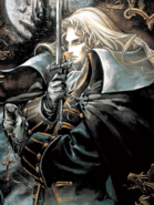 Castlevania - Alucard's Portrait as seen in Castlevania Symphony of the Night