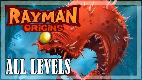 Rayman Origins - All levels, Full game