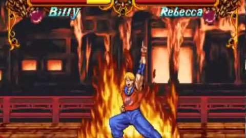 Double Dragon (Neo Geo Arcade) Playthrough as Billy