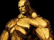 Street Fighter - Sagat close-up
