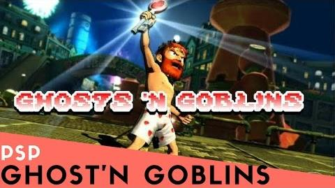 PSP Longplay 4 Ultimate Ghosts 'n Goblins Part 2