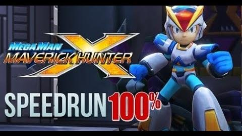 Mega Man Maverick Hunter X ~100% (Hard Mode)