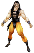 Mortal Kombat - Shang Tsung as he appears in Mortal Kombat 3, Official Concept Art by John Tobias
