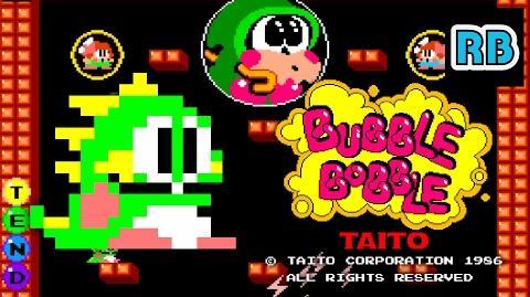 1986 60fps Bubble Bobble True Ending ALL