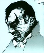 Castlevania - Dracula's face as seen in Vampire Killer for MSX2