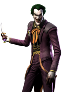 DC Comics - The Joker as he appears in Injustice