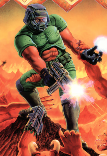 Doom Slayer Fatal Fiction Fanon Wiki Fandom Powered By