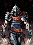 Teenage Mutant Ninja Turtles - The Shredder as he appears on IDW Comics