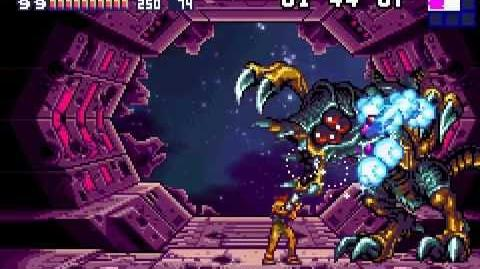 Metroid Fusion (GBA) Best Ending, 100% run w secret message easter egg - Full Game