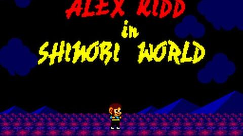 Master System Longplay 005 Alex Kid In Shinobi World