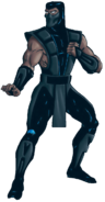 Mortal Kombat - Noob Saibot's Concept Art for the MK Trilogy Version