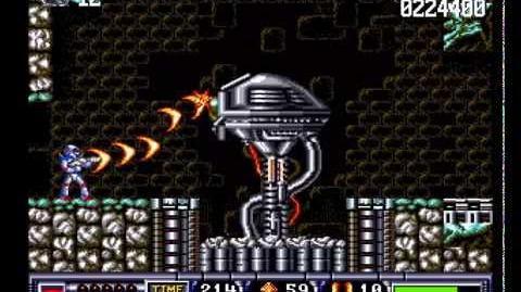 Turrican II The Final Fight Longplay (Amiga) 50 FPS