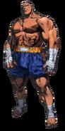 Street Fighter - Sagat as he appears in Street Fighter Alpha