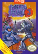 Mega Man Classic - Mega Man as seen on the front box art of Mega Man 3 for Nintendo Entertainment System