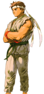 Street Fighter - Ryu as seen in Marvel vs Capcom 2