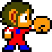 Alex Kidd - Alex Kidd's sprite in the game Alex Kidd in Miracle World