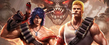 Contra - Bill and Lance as they appear in Contra Return