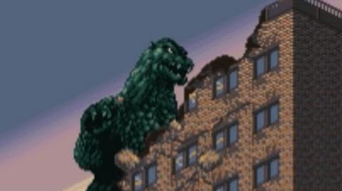 Super Godzilla (SNES) Playthrough - NintendoComplete