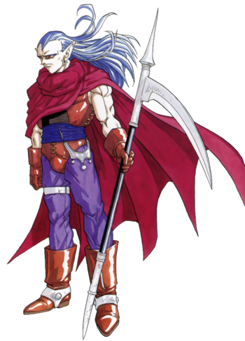 Chrono Trigger - Magus as seen in the Super Nintendo version