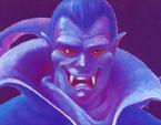 Castlevania - Dracula's face in Castlevania II Simon's Quest
