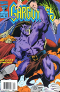 Gargoyles - Goliath as seen in the Marvel Comics cover