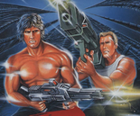 Contra - Bill and Lance as they appear in Super Contra