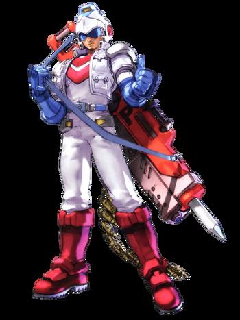 Dig Dug - Taizo Hori as he appears in Namco X Capcom